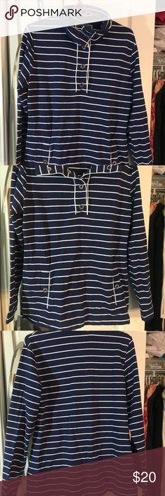 Karen Scott Sport Size M nautical New stripes New Karen Scott Tops Sweatshirts & Hoodies