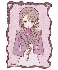 Aesthetic Art, Aesthetic Anime, Arte Copic, Character Art, Character Design, Cute Art Styles, Pastel Art, Kawaii Art, Manga Drawing