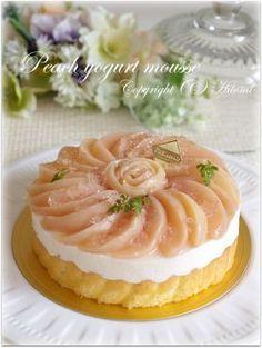 「桃のヨーグルトムース☆」hitomi | お菓子・パンのレシピや作り方【corecle*コレクル】