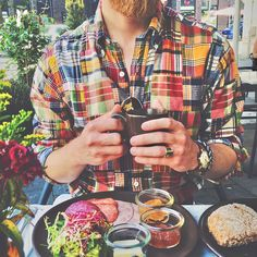 Happy Preppy — Colorful breakfast.  #madras #shirt...