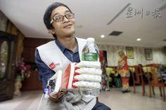 2015年07月05日 - 全國首名受惠者‧截肢工人裝3D機械手 - 國內 - 星洲网 新聞