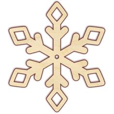 Winter / Christmas Page 2 - The Wooden Hare Plywood Projects, Diy Wooden Projects, Easy Woodworking Projects, Wooden Diy, Wood Slice Crafts, Wood Crafts, Wood Snowflake, Snowflakes, Christmas Ornament Template