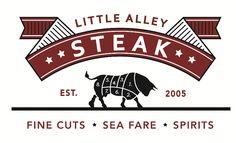 Little Alley Steak Logo
