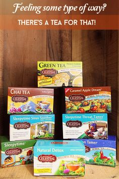 There's A Tea For That! Win a #celestialseasonings prize pack w/ $75 Walmart gift card @ #sophistishe! Ends 11/2/2014