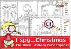 I spy..Christmas!