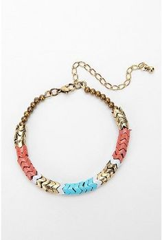Zigzag Bead Bracelet