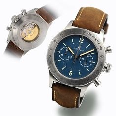 Marine-Officer blue - Chronographs - Steinhartwatches