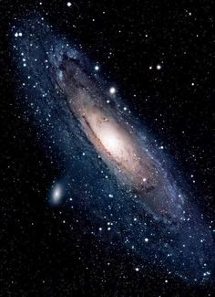 Andromeda Galaxy, 2.5 million light-years away from Earth. Credit: NASA, Hubble Space Telescope