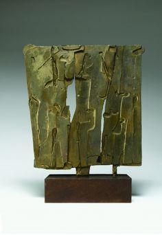 Galleria Tega - PIETRO CONSAGRA - Colloquio Pomeridiano Modern Sculpture, Abstract Sculpture, Action Painting, Contemporary Art, Scene, Clay, Gallery, Metal, Apartments