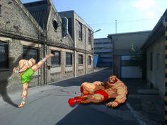 Real Street Fighter.