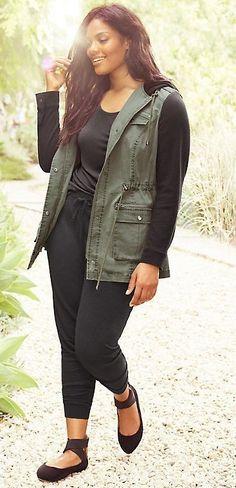 Plus Size Anorak Jacket - Plus Size Fashion for Women