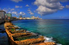 Sights along the Malecon, Havana's seafront