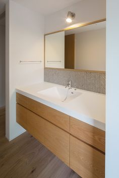洗面|ネイエ設計 Bathroom Renos, Washroom, Interior Design Living Room, Living Room Designs, Interior Architecture, Interior And Exterior, Natural Interior, Laundry Room Design, Dressing Room