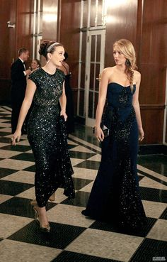 -Blair and Serena....I am going to miss Gossip Girl so much....