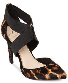 Jessica Simpson Venita Cross Strap Pumps @ macys.com $69.99