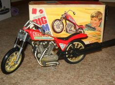 big jim motorcycle | Details about 1972 Vintage BIG JIM Rugged Rider Motorcycle Bike w BOX