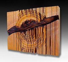 Deconstruction by Sean Gillespie: Wood Wall Art