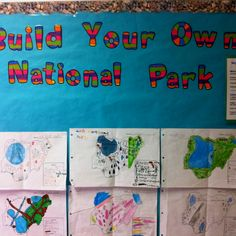 Build your own national park project. School Projects, School Ideas, Projects To Try, Classroom Themes, Classroom Activities, Teaching Tools, Teaching Ideas, Virtual Field Trips, World Geography