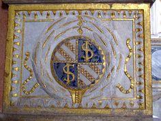 Stemma Malatesta, Cappella degli antenati. Tempio Malatestiano, Rimini.