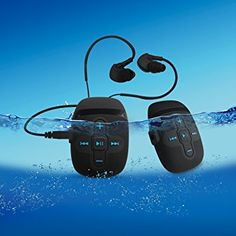Guaranty Waterproof music player for Underwater swimming, running, surfing and other water sports. [with waterproof earphone] Mp3 Music Player, Mp4 Player, Underwater Swimming, Water Sports, Outdoor Activities, Surfing, Headphones, Marketing, Personalized Items
