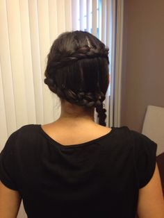 Did My Sisters Hair With Pinterest