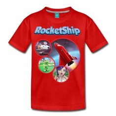 RocketShip T- Shirts Available at the RocketShip Online Store