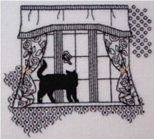 Gallery.ru / Фото #1 - Кошки на окошках. - irinika