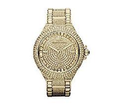 Michael Kors Goldtone Camille Watch