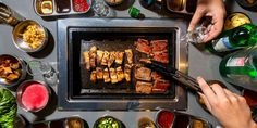If you're looking for a dinner-date night, head to Bawi Korean BBQ for delicious plates. Restaurant is in Springfield, MO. Korean Bbq, Date Dinner, Best Dishes, Missouri, Restaurants, Plates, Meals, Night, Licence Plates