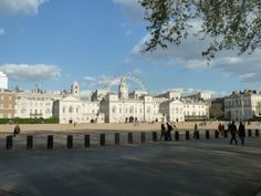 Horse Guards in front of St James Park