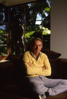 Rod McKuen Mansion 007d; 1986-10-01 Rod McKuen photoshoot slide 09