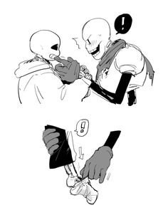 Sans and Papyrus  fontcest