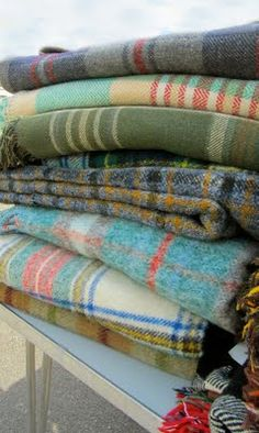 blankets... never too early to start thinking about the cold times.