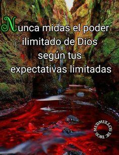 Nunca midas el poder ilimitado de Dios según tus expectativas limitadas