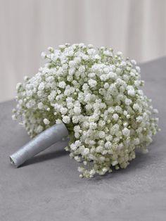 Brautstrauß aus weißem Schleierkraut von weddingstyle.de