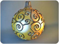 Sculpture christmas ball by dbyard in Best Christmas 3D Models from 3DExport