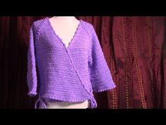 Haken - tutorial: kort vestje / bedjasje - YouTube Crochet Clothes, Tutorials, Pullover, Clothing, Youtube, Sweaters, Fashion, Outfits, Moda
