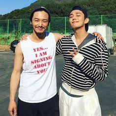 Fave actors 😍 Byun Yo Han & Yoo Ah In