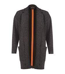 Grey tweed unfastened blazer €60.00
