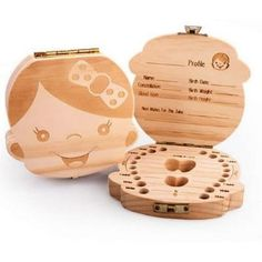 FREE SHIPPING WORLDWIDE - Handmade wooden baby tooth box. - Protects and organizes baby teeth. - Makes a great gift for newborn baby or birthday gift 100% Satisfaction Guaranteed With Every Order.