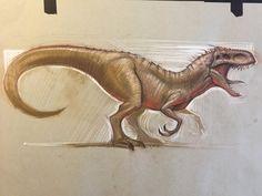 Indominus Rex by AlexRuizArt.deviantart.com on @DeviantArt