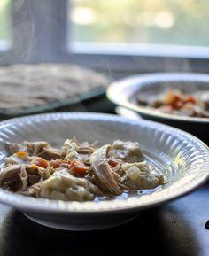 easy crockpot chicken and dumplings