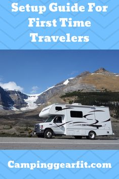 Tips To Help Your first time camping with a travel trailer Or Rv. And A how-to guide, step by step procedures. For First-time travel trailer setting up at a trailer, Rv park First Time Camping, Family Camping, Truck Camping, Camping Hacks, Towing Vehicle, Caravan Holiday, Keystone Rv, Holiday Park, Rv Parks