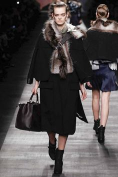 Fendi Fall 2014 Ready-to-Wear Collection at Milan Fashion Week