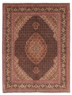 Tapis prestigieux - Tabriz 50 Mahi  Dimensions:202x153cm