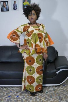 African Traditional Wedding, African Wear Dresses, African Fabric, New Outfits, Charlotte, Dressing, Blouses, Rock, My Style