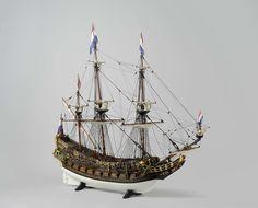 Hollands oorlogsschip van 44 stukken, anoniem, 1648