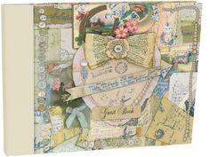 Roger la Borde | Vintage Guest Book by Jessie Chorley