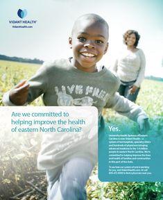 Vidant Health Print Ad - For Curiosity Seekers: More Hospital Print Ads