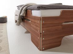 The stacking bed is a functional as well as ingenious piece of furniture. It is ideal for single and small apartments or guest rooms. With its attractive design which is functional and timeless at the same time, the clever stacking bed is long since a